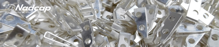 Example of Nadcap Silver Plating on Clips