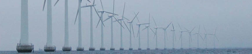 Wind Turbines Coated